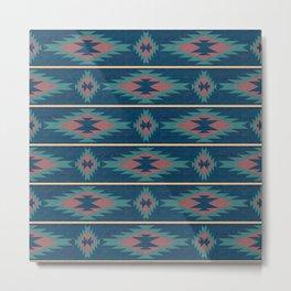 Native Spirit Pattern Metal Print