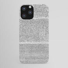 The Rosetta Stone iPhone Case
