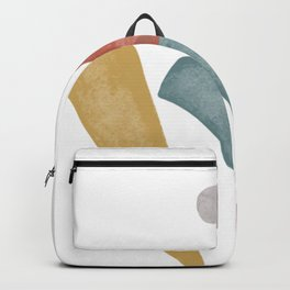 Abstract Graphic Illustrations | Elements IX Backpack