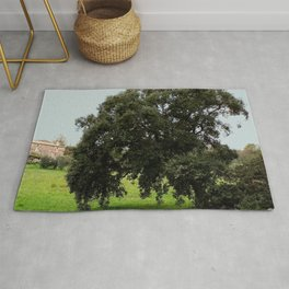 Old Cork Oak Tree Meadow Rug