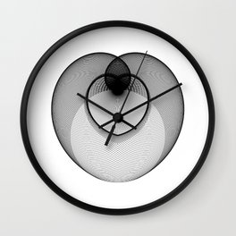 The Heart . Geometric Colletion Wall Clock