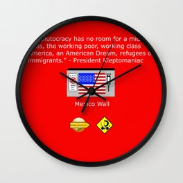 The Plutocracy in America Wall Clock