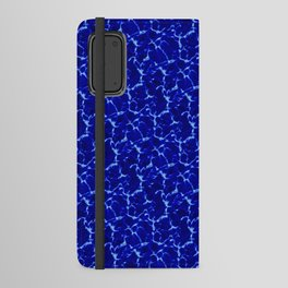 Hyperlink Deep Blue – '90s Water Graphics Android Wallet Case