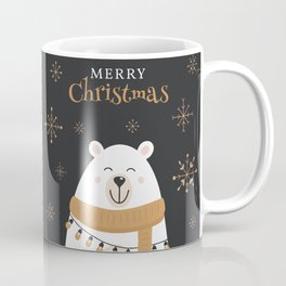 Christmas Polar Bear Coffee Mug