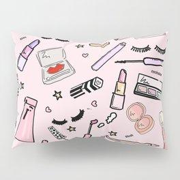 Makeup Love Pillow Sham