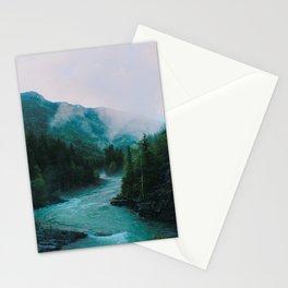 Glacier River Stationery Cards