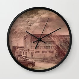 Car heaven Wall Clock