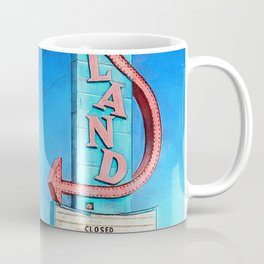 Vintage Neon Sign - Joyland Coffee Mug