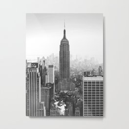 New York, Empire State Building Metal Print