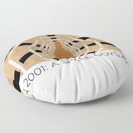 Minimalist 2001: A space odyssey Floor Pillow