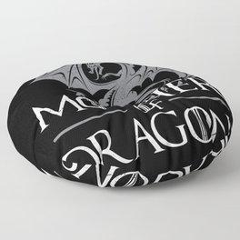 Mother Of Dragons Floor Pillow