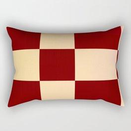 JPEG Compression Quads Rectangular Pillow