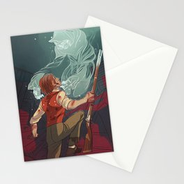 Death, My Friend Stationery Cards