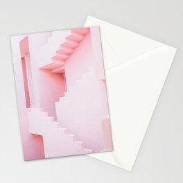 Stair mazes Stationery Cards