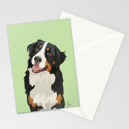Belgian Shepherd Portrait Stationery Cards