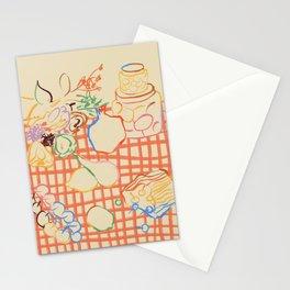 SUMMER FRUIT STILL LIFE Stationery Cards