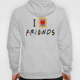 I Love Friends Hoody