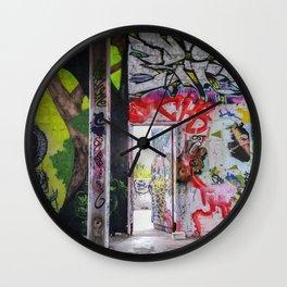 Graffiti Art Wall Clock