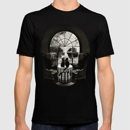 Room Skull B&W T-Shirt