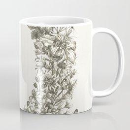 Bloemenrand met insecten (1657-1717) by Maria Sibylla Merian Coffee Mug