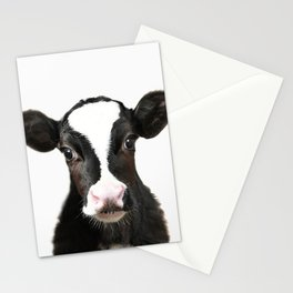 Baby Cow Stationery Cards