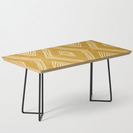 Birch in Gold Coffee Table