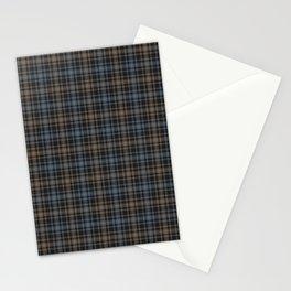 Beautiful plaid 4 Stationery Cards