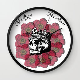 My King, My Love Wall Clock