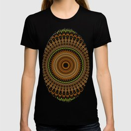 Fractal Kaleido Study 002 in CMR T-shirt