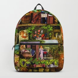 The Poetry of Wine Backpack