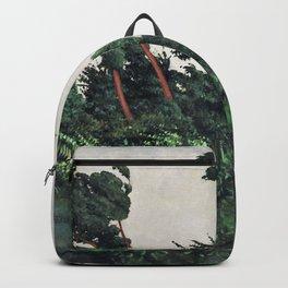 Felix Edouard Vallotton - The Wind - Digital Remastered Edition Backpack
