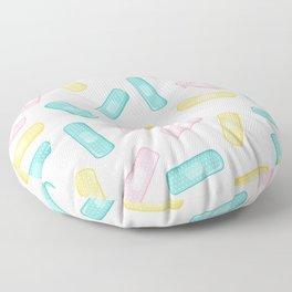 Pastel Plasters Floor Pillow