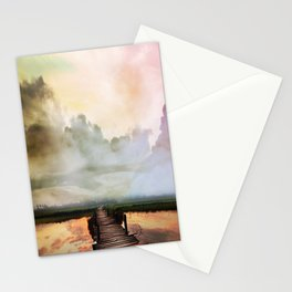Bridge to the Horizon Stationery Cards