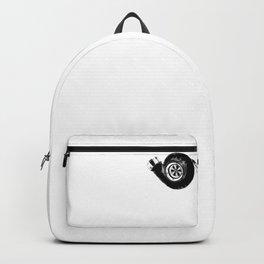 Turbo Boost turbocharger tuning gift idea xmas Backpack