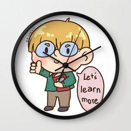 Teachers strictly teaching school children gift Wall Clock