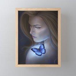 Blue Hope Framed Mini Art Print