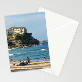 Queenscliff Beach, Sydney Stationery Cards