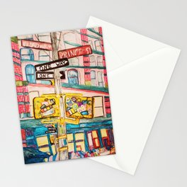 """""""this ones called i'd rather be on broadway than be a prince."""" Stationery Cards"""