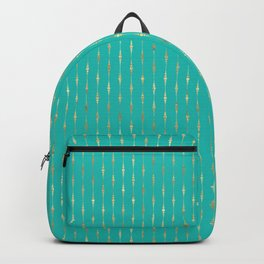 Golden raindrops. Backpack