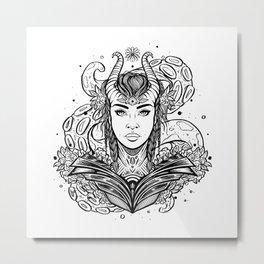 Viking Warrior (Daily Sketch Series) Metal Print