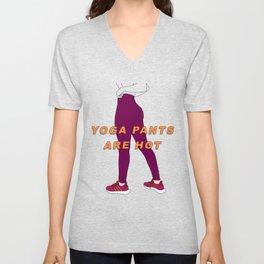 Yoga Pants Unisex V-Neck