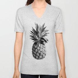 Pineapple Engraving Unisex V-Neck