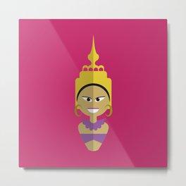 Thai Doll Metal Print