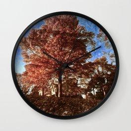 Montclair Autumn Scape Wall Clock