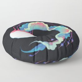 Jellyfish 3 Floor Pillow