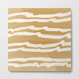 Valencia Lines Metal Print