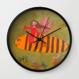 source of life Wall Clock