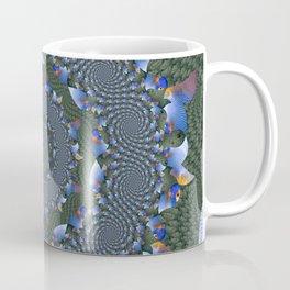 Circles of Spiraling Tropical Fish I Coffee Mug