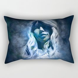 Gothic Virgo Rectangular Pillow