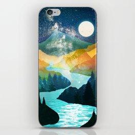 Under the Starlight iPhone Skin